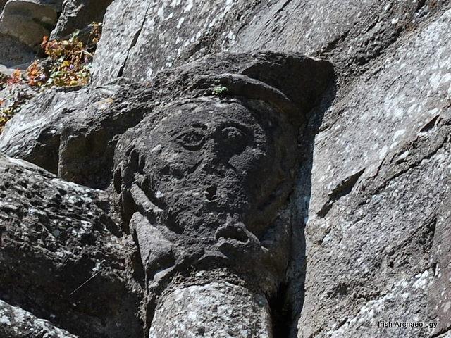 Medieval head