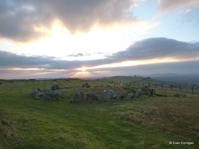 A Satellite Tomb near Cairn L Loughcrew