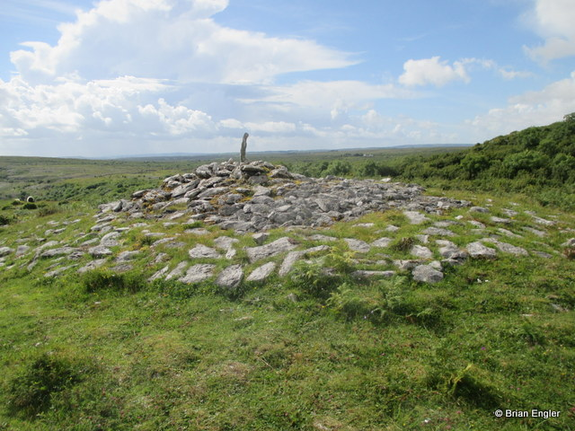 Cairn in the Burren, Clare