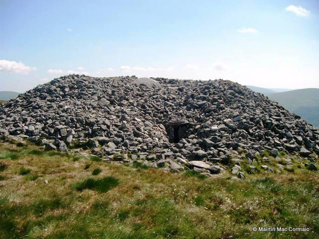 Seefin passage grave, Co. Wicklow by Máirtín Mac Cormaic