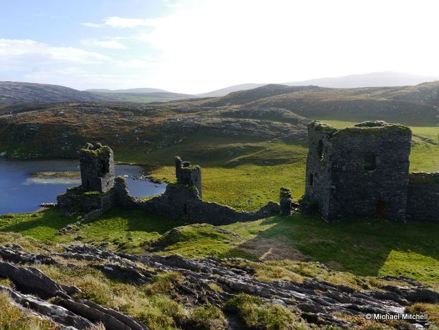 Three Castles Head in County Cork
