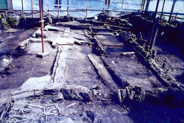 Viking house archaeology