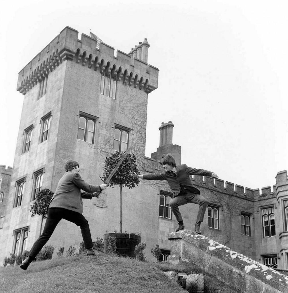 Beatles Adare castle