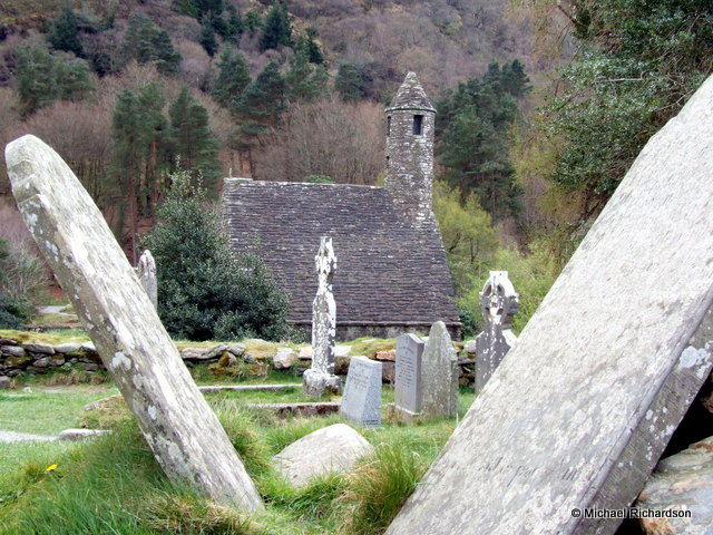 St Kevins church glendalough