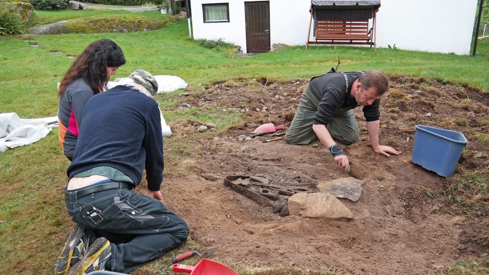 Viking grave norway