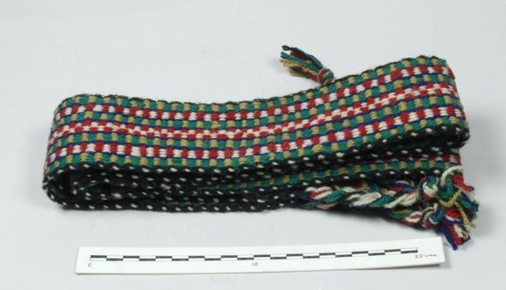 An Aran Island Crios woven in 1946 (Pitt Rivers Museum)