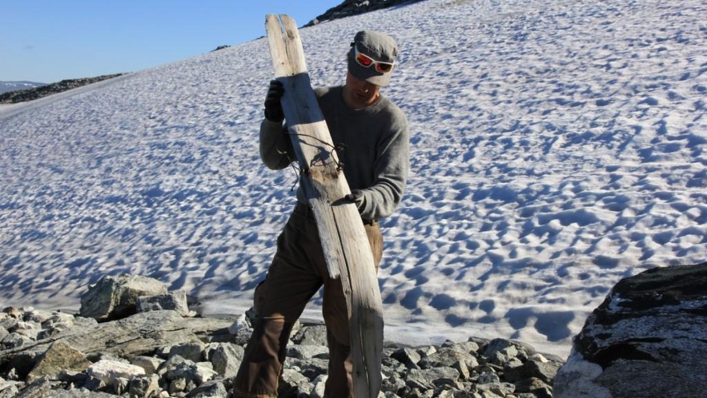 Ancient ski