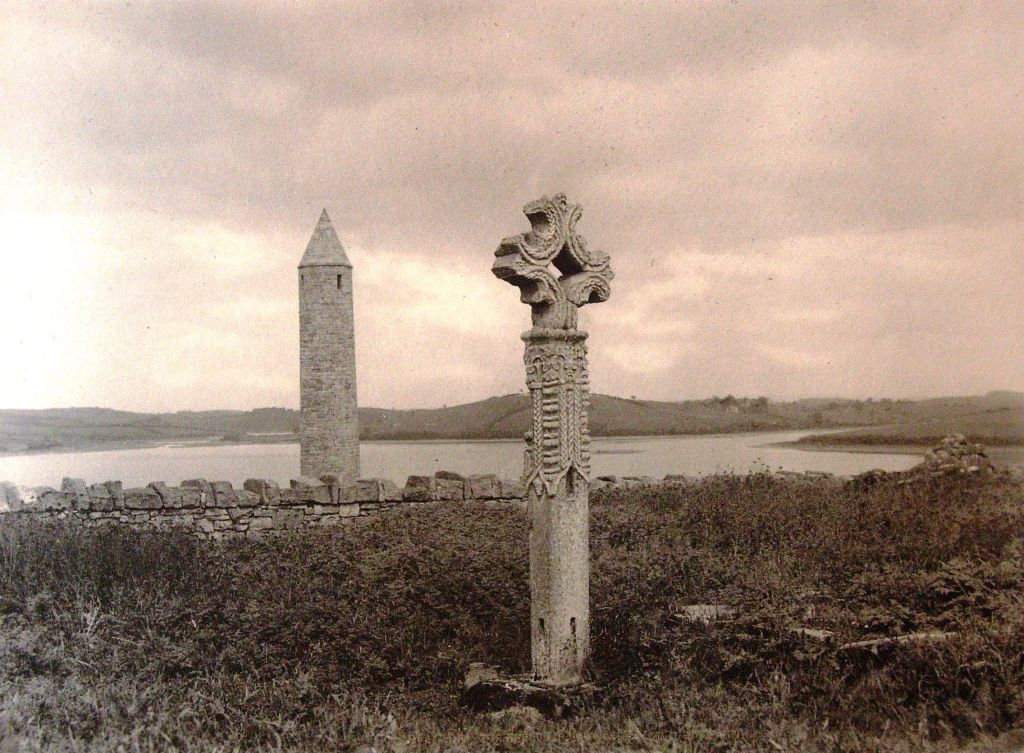 Devinish Island cross