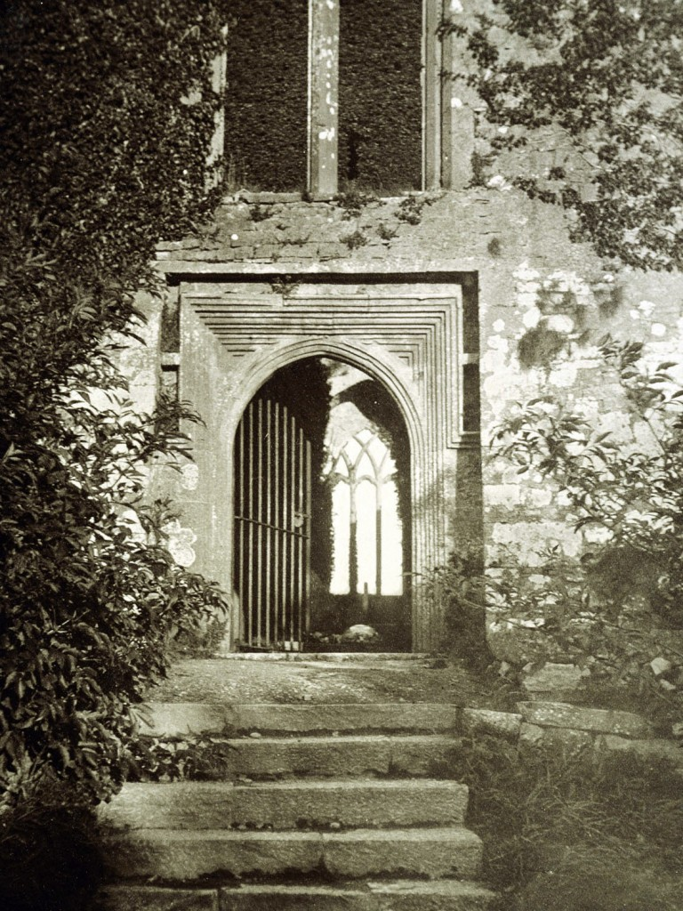 Quinn Abbey, Clare, old photo