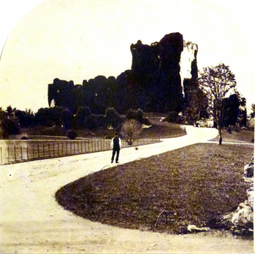 old photo Ross castle Killarney