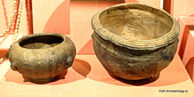 Neolithic pots Irish