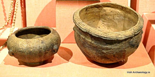 Neolithic pots Irish