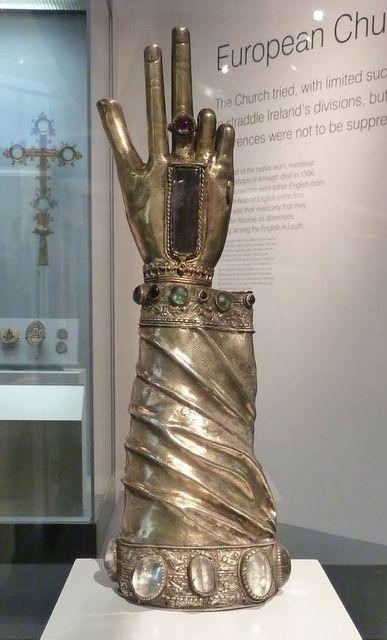 St Patrick's arm shrine