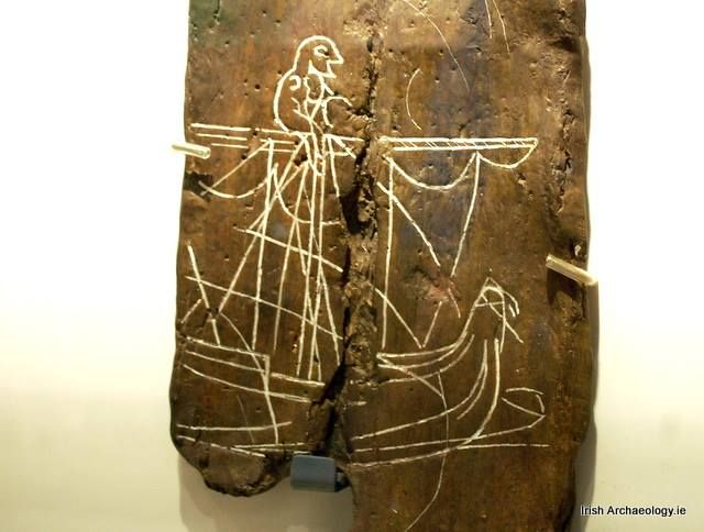 Viking Ship graffiti