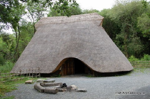 Replica Irish Neolithic House