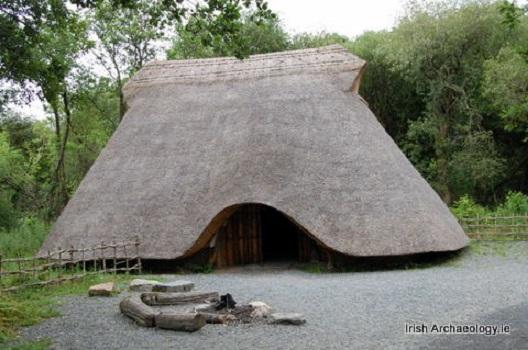 Replica Irish Neolithic House