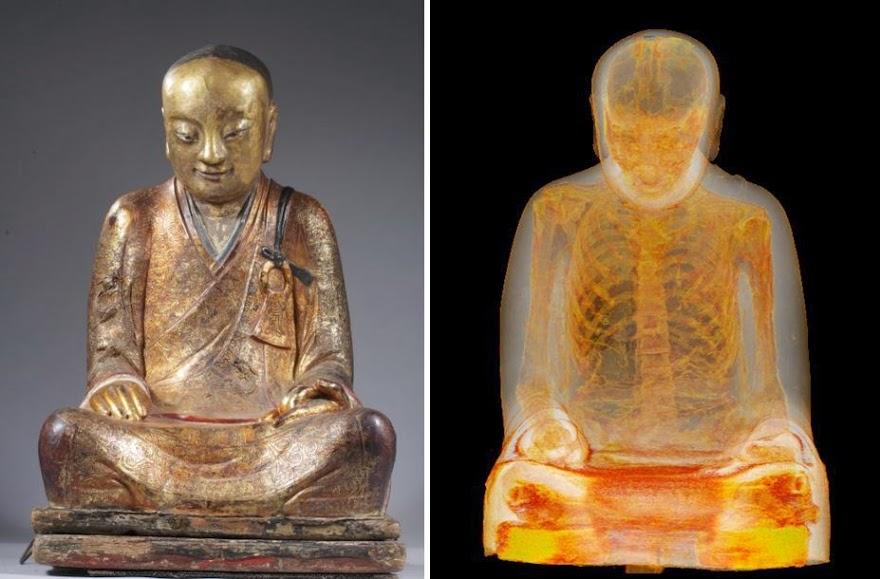 Buddha mummy