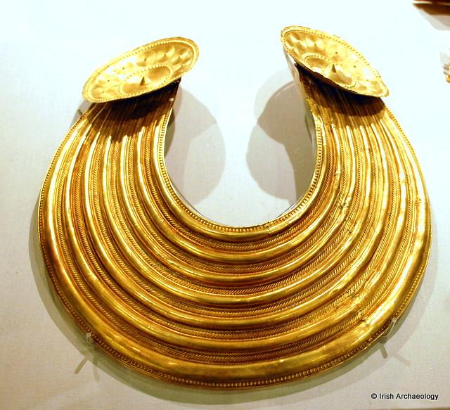 Bronze Age gold collar Ireland
