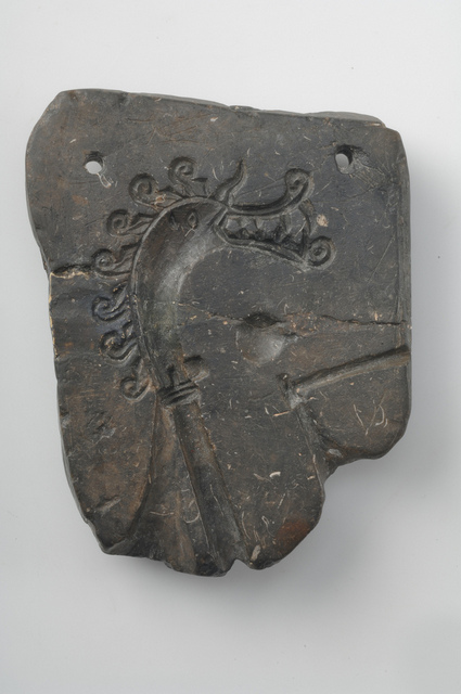 The original soapstone mould found in the 1870s