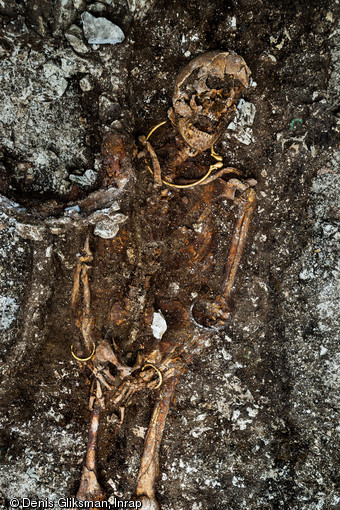 Celtic burial