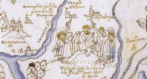 Inauguration_of_the_chief_at_Tullaghoge-1602