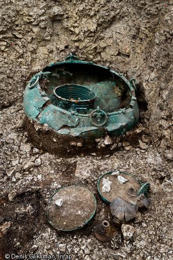 Iron age cauldron