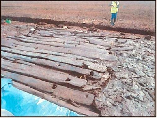 ancient bog road way