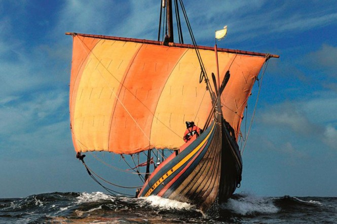 The Sea Stallion of Glendalough (photo Werner Karrasch/Viking Ship Museum)