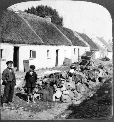 Barefoot boys, the Claddagh, Galway city, 1903