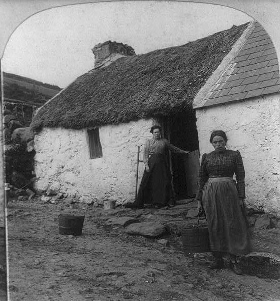 old irish cottage