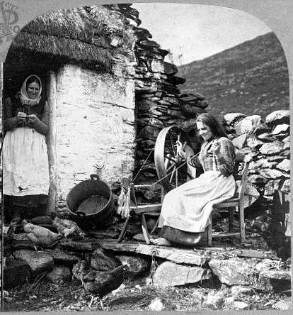 old irish photo