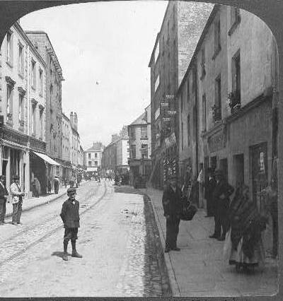 old photo shop street galway
