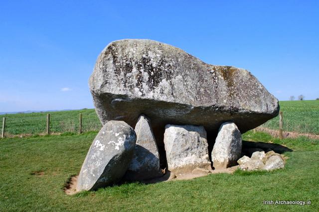 Brownshill portal tomb carlow