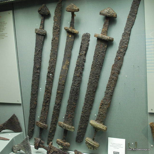 Viking Age swords at the National Museum of Ireland