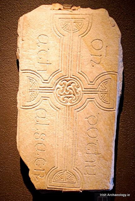 clonmacnoise lápida