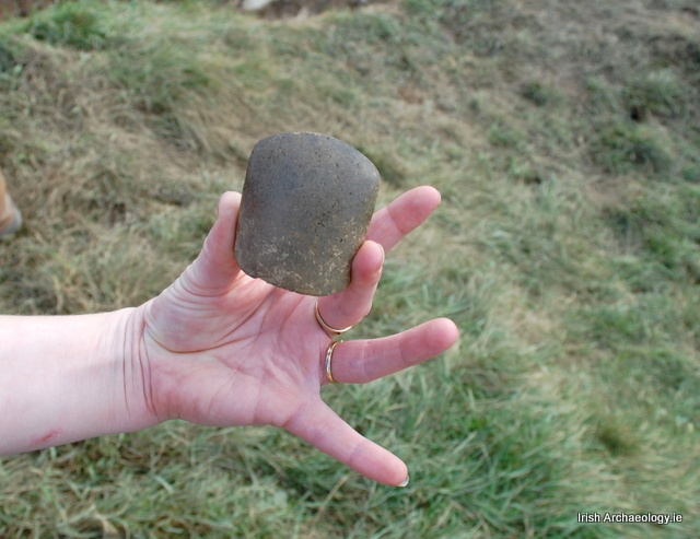 polished stone axe dublin
