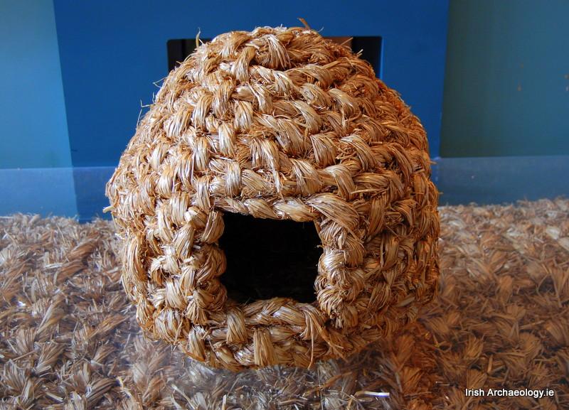 woven-straw-hens-nest